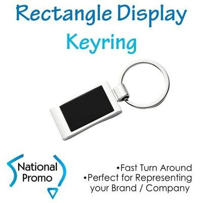 Rectangle Display Keyring