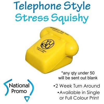 Full Colour Print Telephone Stress Squishy