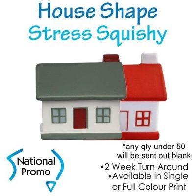 Full Colour Print House Stress Squishy