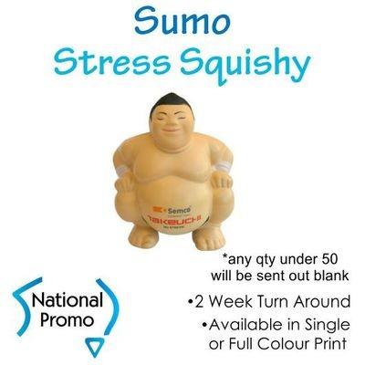 Full Colour Print Sumo Stress Squishy