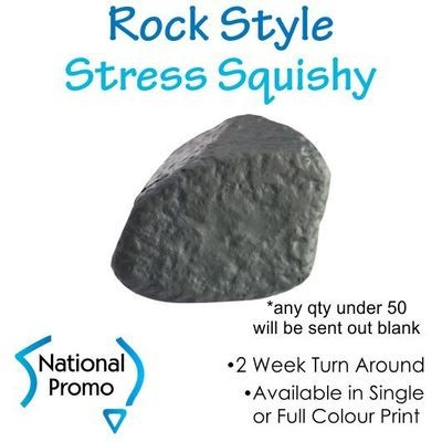 Full Colour Print Rock Style Stress Squishy
