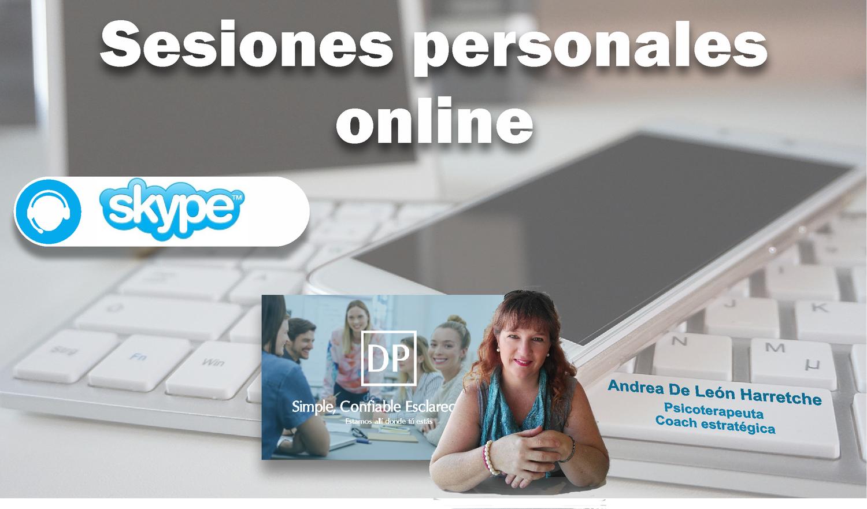Sesión online Psicoterapia o Coaching