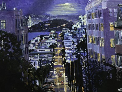Chestnut Street, 48x36, SOLD