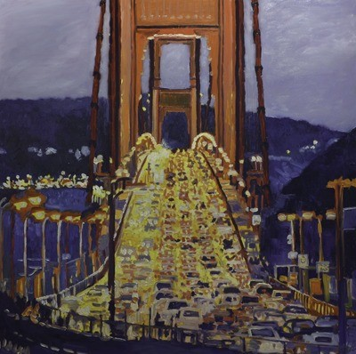 Golden Gate, 48x48, 2017 SOLD