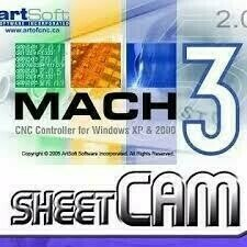 Mach3/Sheetcam License Combo