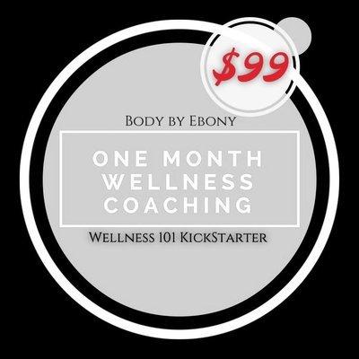 Wellness Coaching Gift Certificate - 4/60
