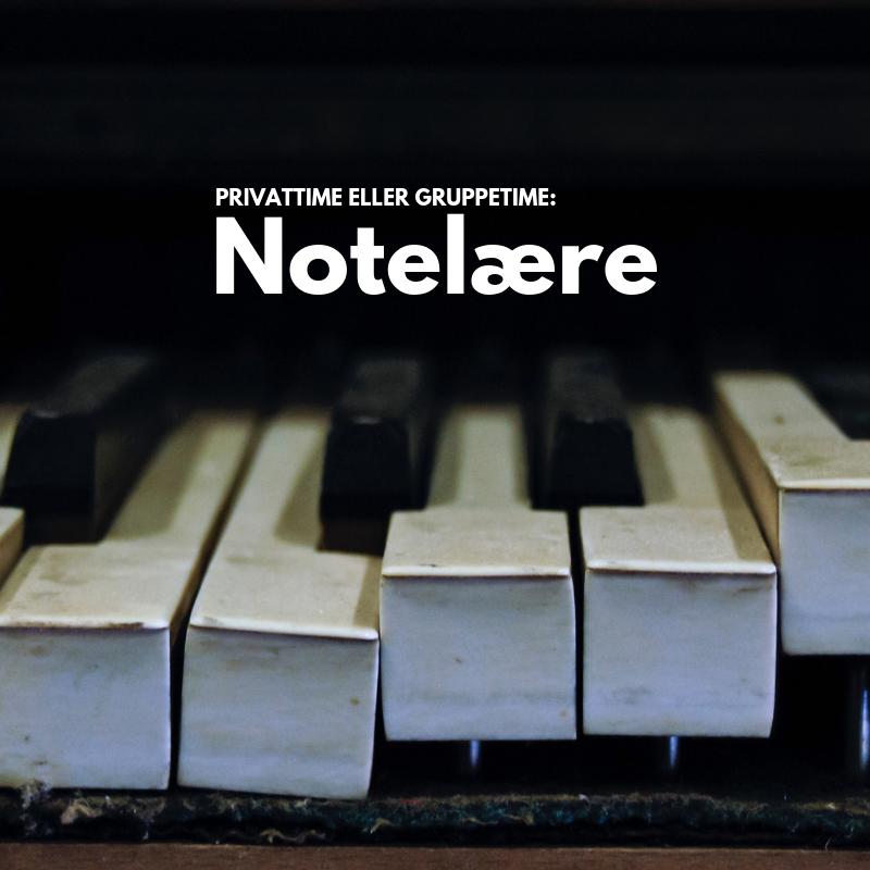 Notelære og musikkteori - 45 minutter 00010
