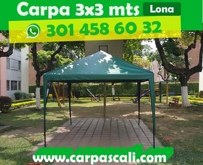 CARPA IMPERMEABLE DE 3x3 METROS LONA ESPAÑA