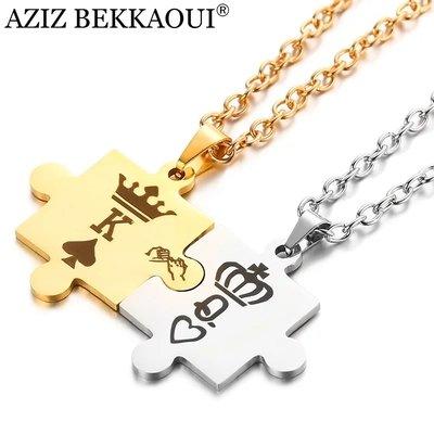 2dcb8ab3b1 K-Q Couples Necklaces