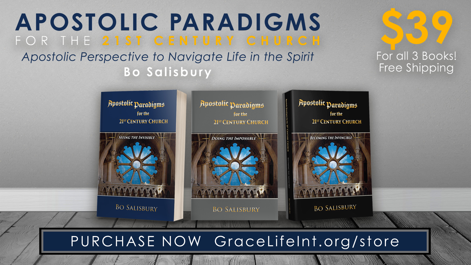 Apostolic Paradigms Series (all 3 books) 5277