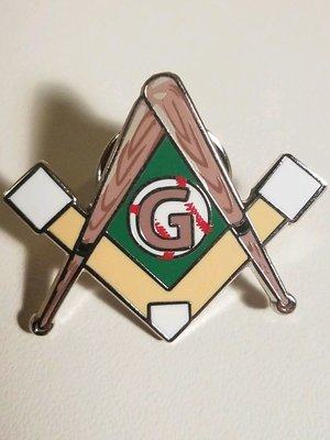 Baseball Lapel Pin