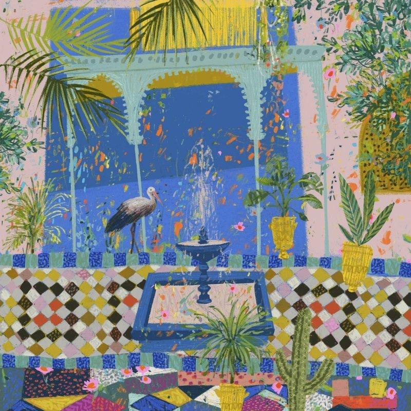 Jardin Majorelle print