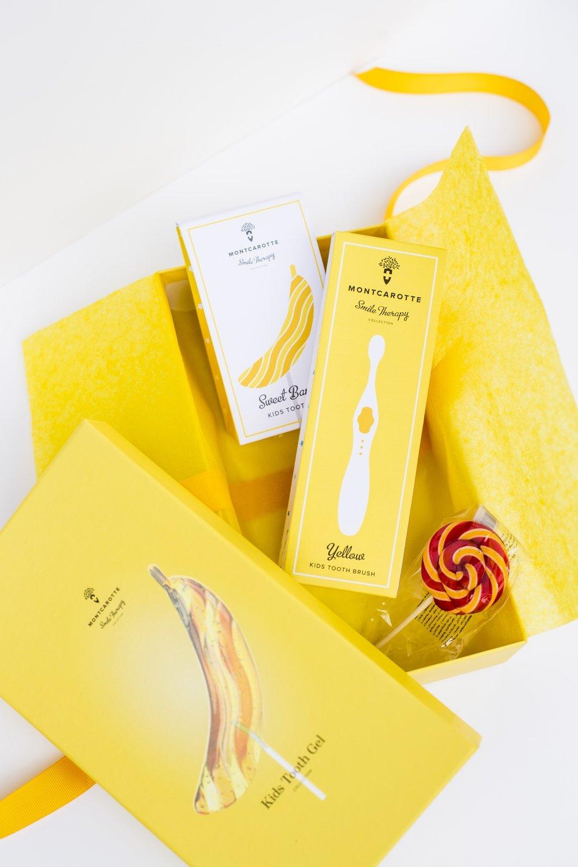 """Подарочный набор для детей """"Банан"""" Sweet Banana Present Set 0+"""