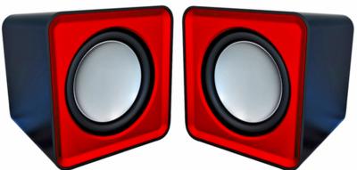 Колонки портативные OMEGA 2.0 OG-01 SURVEYOR 6W RED USB (OG01R 42764)