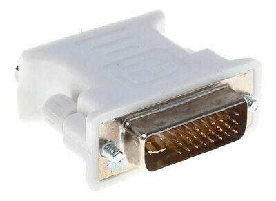 Переходник DVI-I-VGA BURO VGA-15F/DVI-I-PLUG [202029]