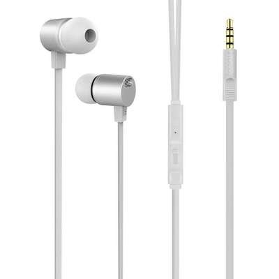 Наушники (Вставные) HOCO M33 FULL HARMONY EARPHONES WITH MIC [078197] (METAL GRAY)