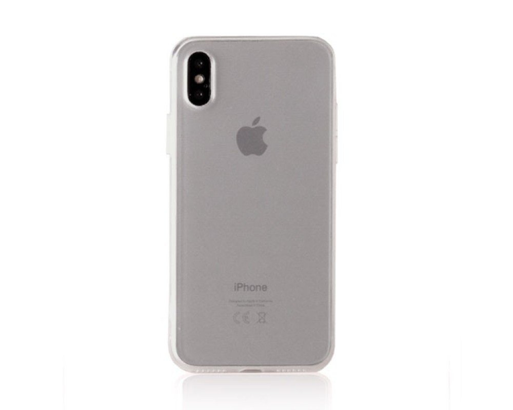 Чехол APPLE iPHONE X HOCO FASCINATION SERIES [060130] (TRANSPARENT)