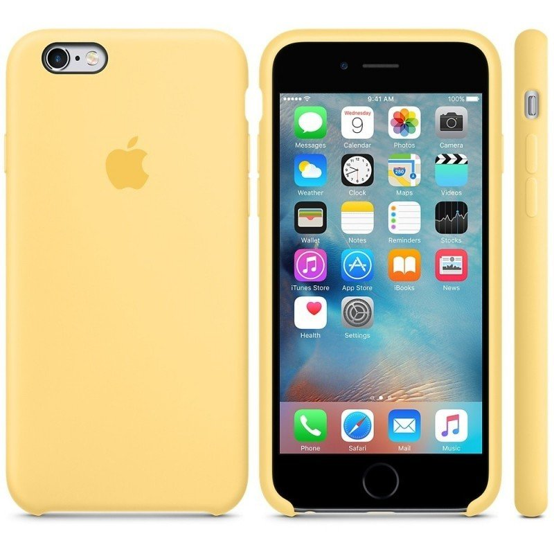 Чехол APPLE iPHONE 6/6S FLYPOWER PLASTIC PACKAGING [080980] (YELLOW)