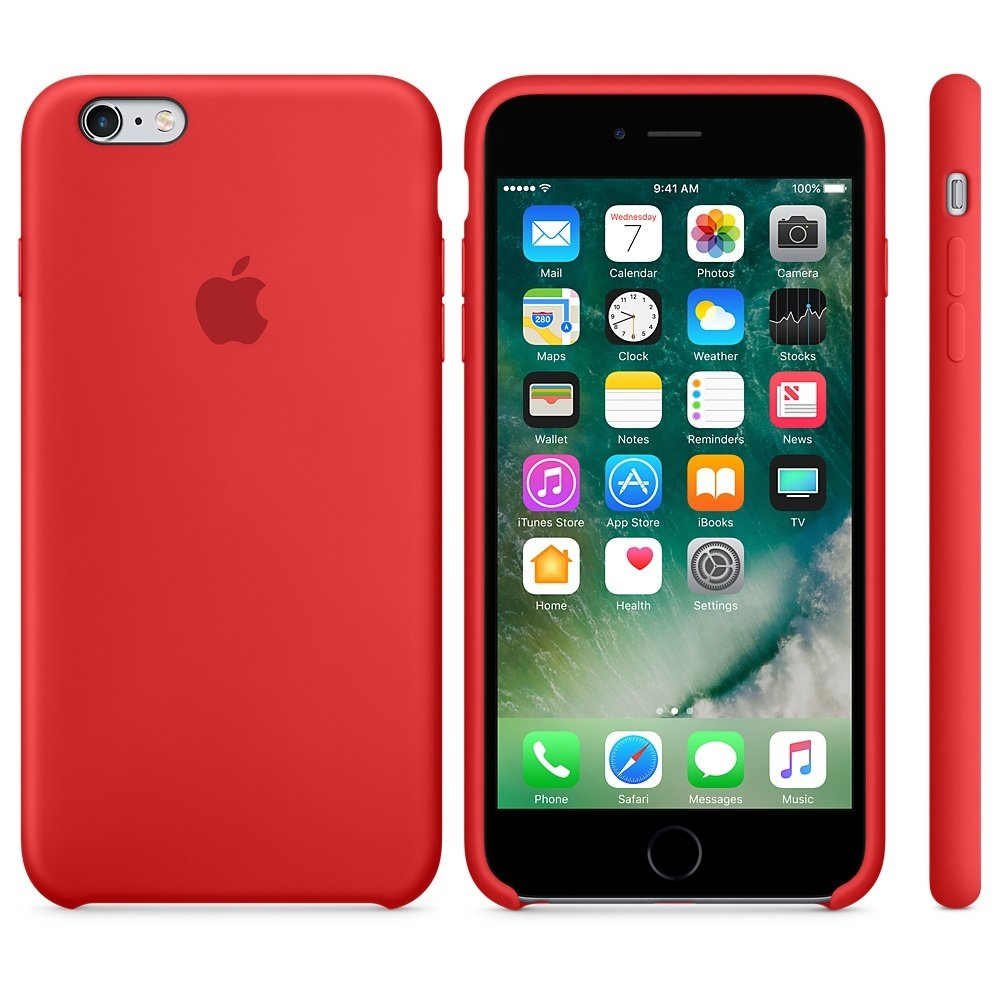Чехол APPLE iPHONE 6/6S FLYPOWER PLASTIC PACKAGING [050887] (RED)