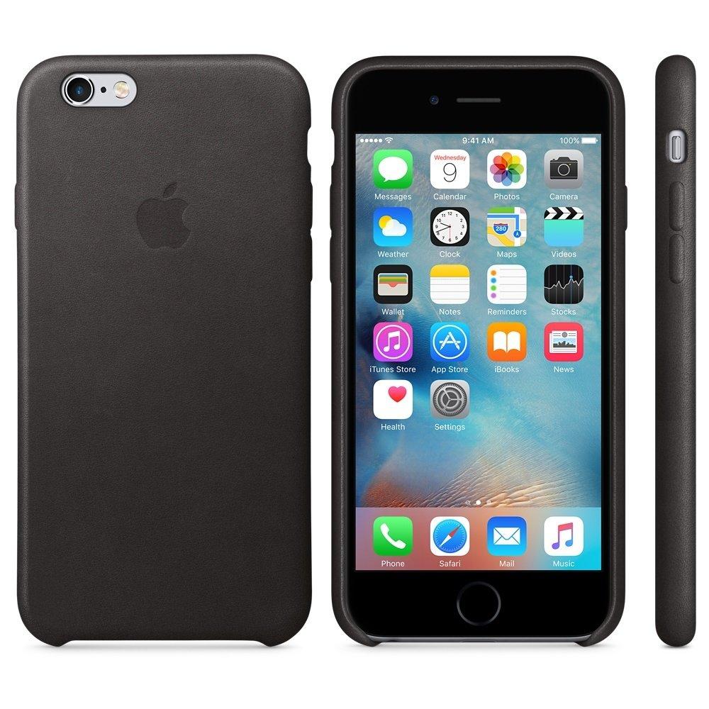 Чехол APPLE iPHONE 6/6S FLYPOWER PLASTIC PACKAGING [060886] (BLACK)