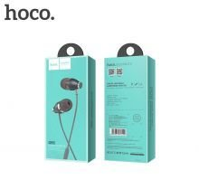 Наушники (Вставные) HOCO M28 ARIOSE UNIVERSAL EARPHONES WITH MIC [070443] (METAL GRAY)