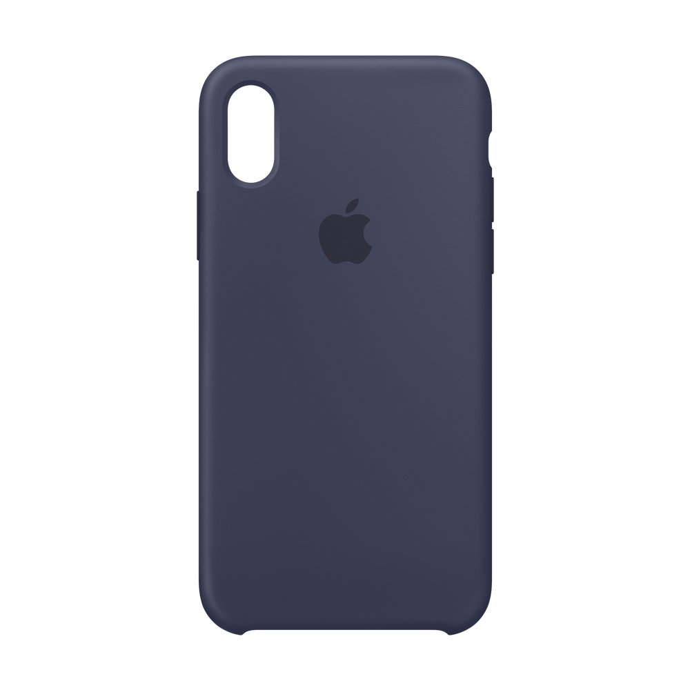 Чехол APPLE iPHONE Х FLYPOWER PLASTIC PACKAGING [391188] (SAPPHIRE BLUE)