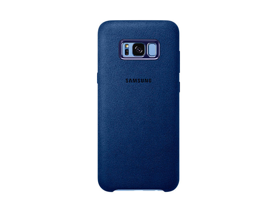 Чехол SAMSUNG S8 FLYPOWER ALCANTARA COVER [601188] (DODGER BLUE)