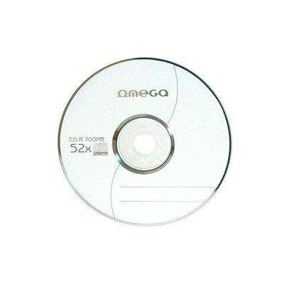 Диск CD-R 700MB OMEGA (OM50S) [564721] (52X)