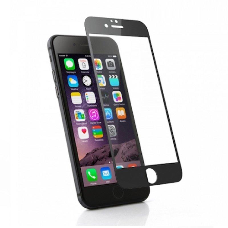 Защитное стекло FLYPOWER 2,5D IPHONE 6/6S PLUS [861089] (полная проклейка)(BLACK)