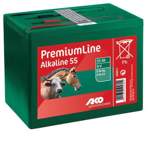 Trockenbatterie Alkaline 9V
