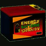 Trockenbatterie Zink-Kohle 9V