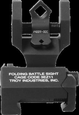 Troy Folding Rear DI-Optic Sight - Black