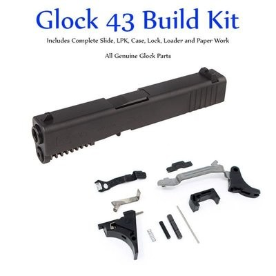 SS80 Glock 43 - Single Stack 9mm Slide & Lower Parts Kit