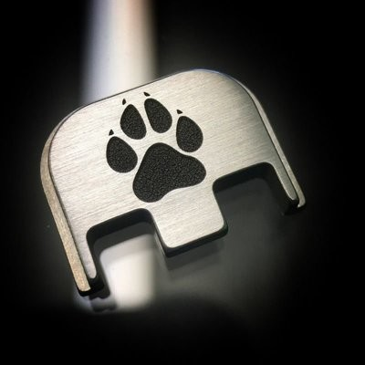 Dog Paw - Titanium Back Plate