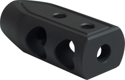 .308 Heart Breaker Muzzle Brake - Black Cerakote