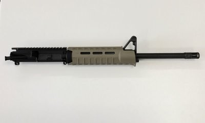 5.56 NATO 1:8 Complete Upper w/ Front Sight Base Magpul Moe SL Hand Guard FDE