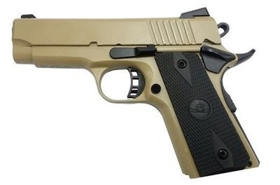 1911 Tactical Officer Size 80% Builders Kit - FDE - 9mm