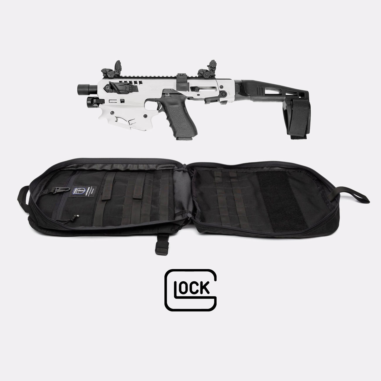 Micro Conversion Kit (Glock) + Ballistic Sling Bag - MCK