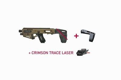Micro RONI® Stabilizer GEN 3 w/ Long Stabilizer & Laser