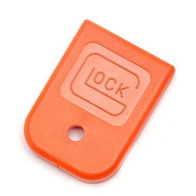 Glock Magazine Floor Plate; 9mm, .40, .357, .45 GAP (Orange)