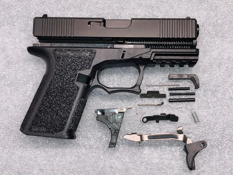 Patriot G19 80% Pistol Build Kit 9mm - Polymer80 PF940C - Black