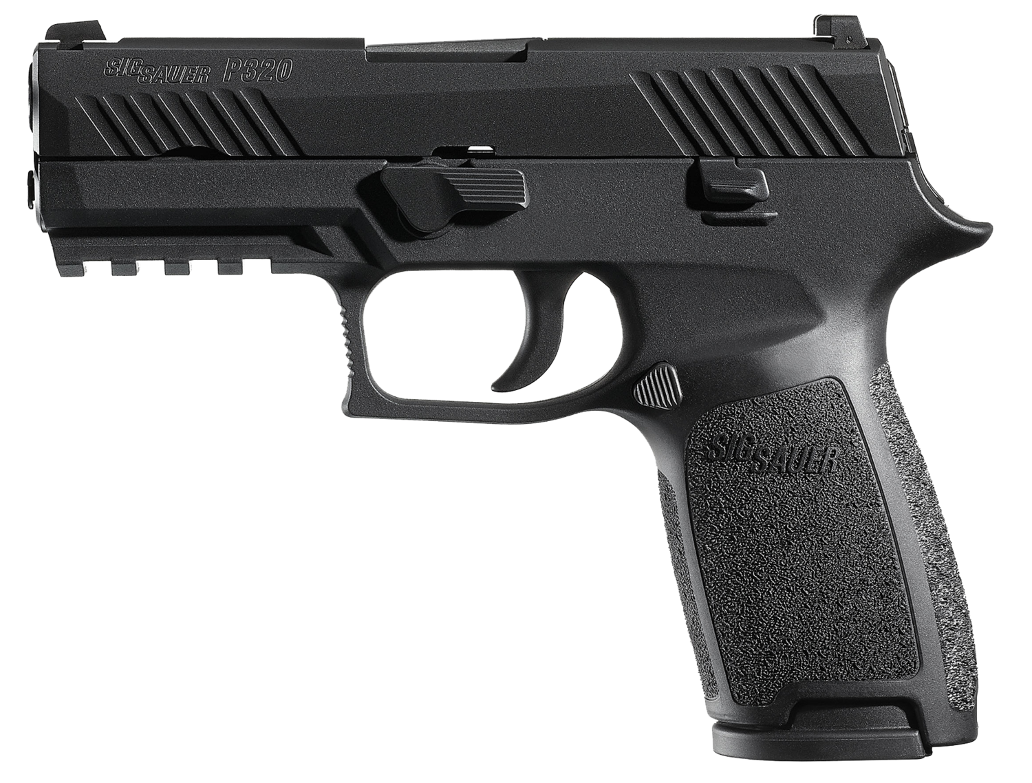 "80% Sig Sauer - P320 Carry Double 357 Sig 3.9"" 14+1 - 2 Mags - Black Polymer Grip/Frame Grip - Nitron Stainless Steel"