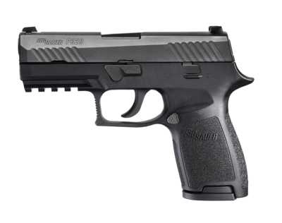 80% Sig Sauer - P320 Compact Double - 40 Smith & Wesson (S&W) 3.9