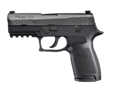 80% Sig Sauer - P320 Compact Double 45 Automatic Colt Pistol (ACP) 3.9