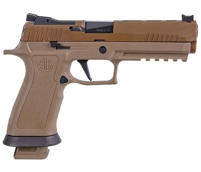 80% Sig Sauer - P320 X-Five Coyote 9mm Striker-Fired Pistol