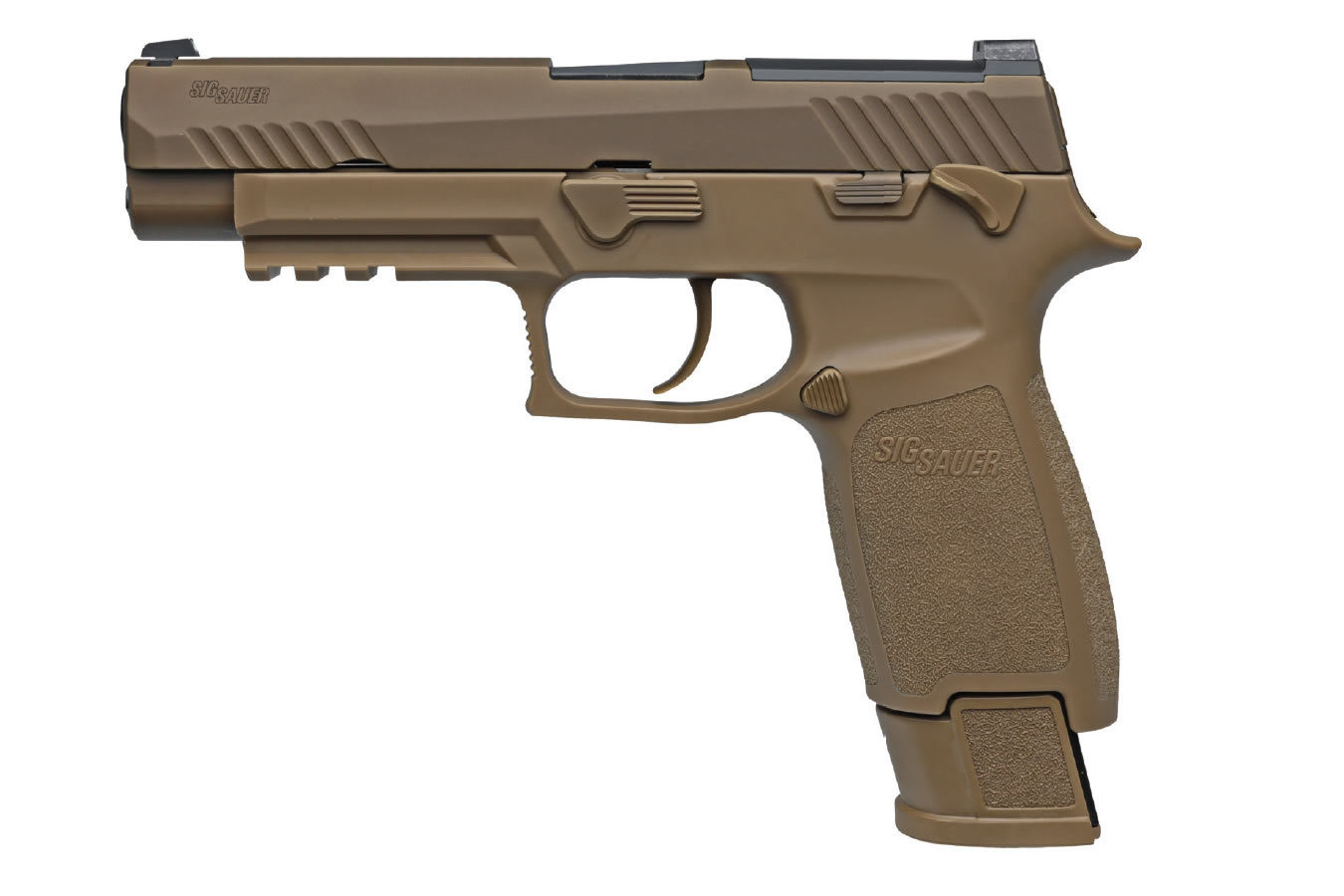 Sig Sauer - P320 M17 Commemorative Edition 9mm Full-Size - (FDE) Striker-Fired Pistol