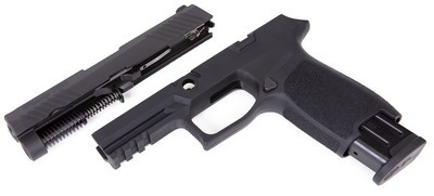 Caliber X-Change Kit - P320 Carry - 9mm - 17 Rnd Mag - Blk