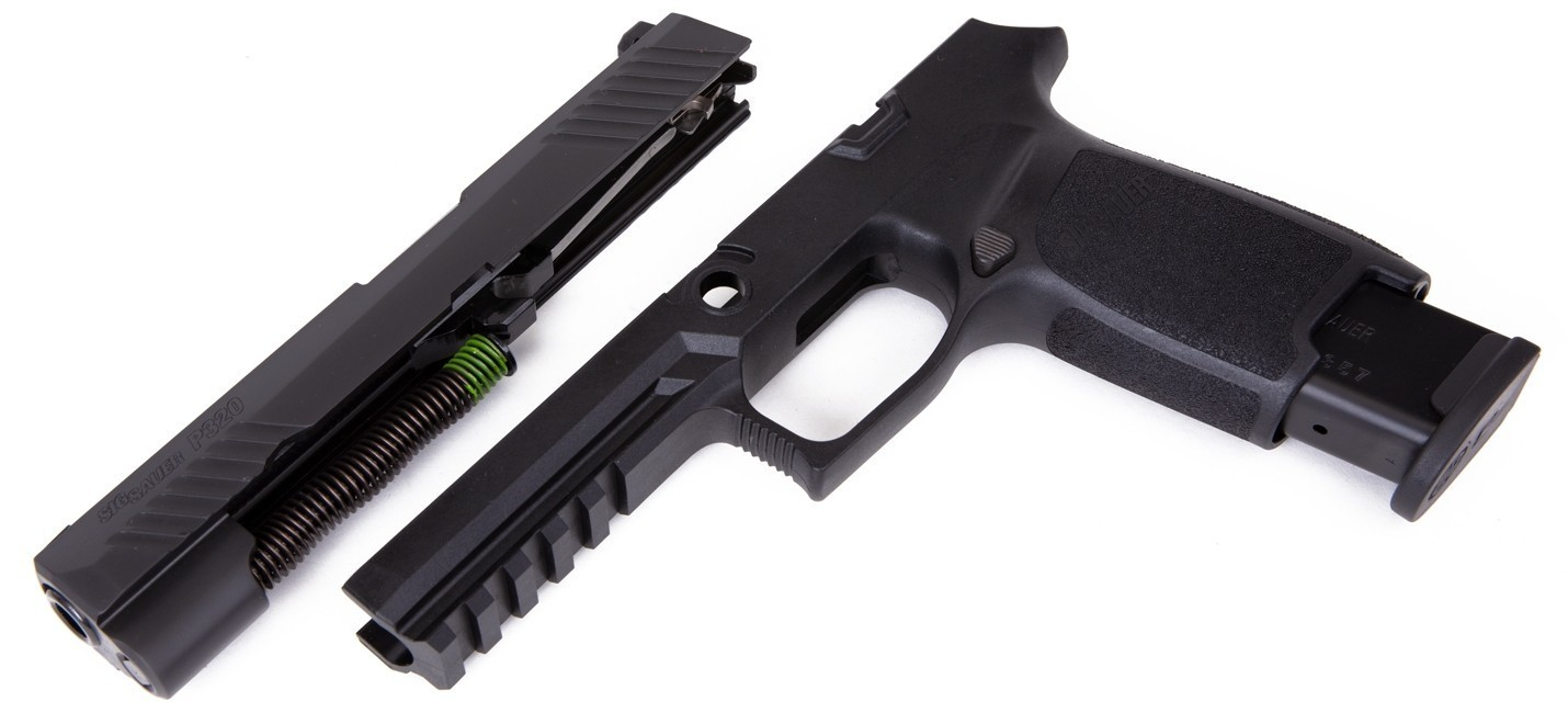 Caliber X-Change Kit - P320 Full - .40Auto - 10 Rnd Mag - Blk