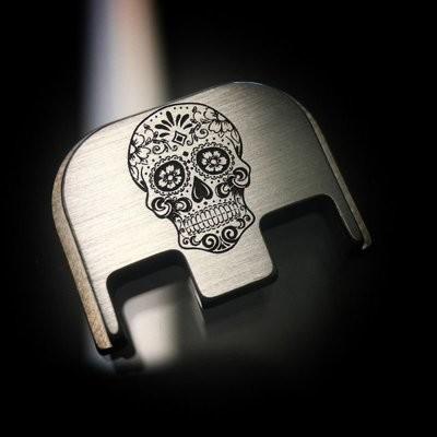 Sugar Skull - Titanium Back Plate