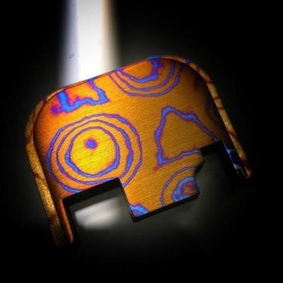 Standard Moku-Ti Glock Back Plate #23